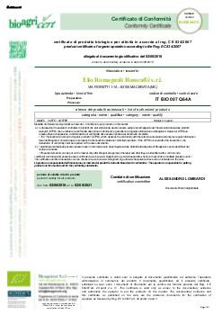 CertificatoBio