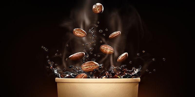 caffè espresso bruciato o sporco