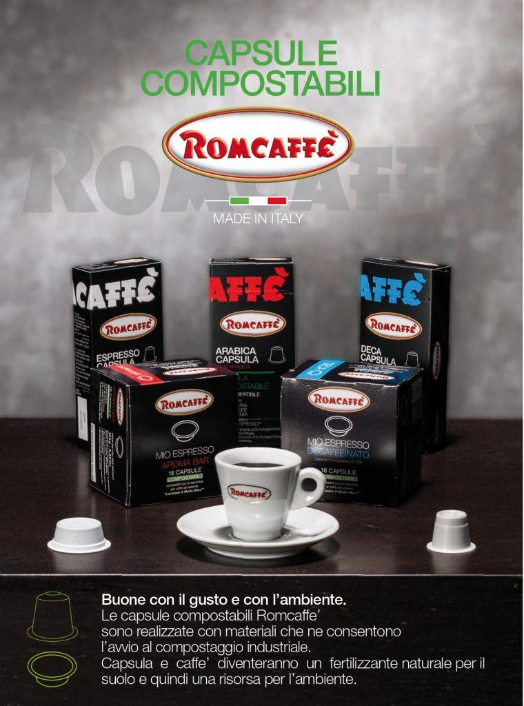 Romcaffè Capsule Compostabili Made in Italy